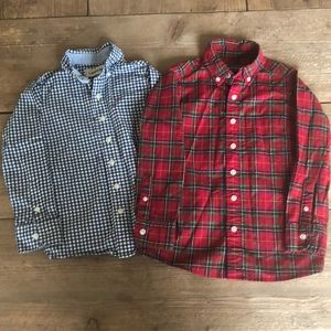 Lands End Boys shirts